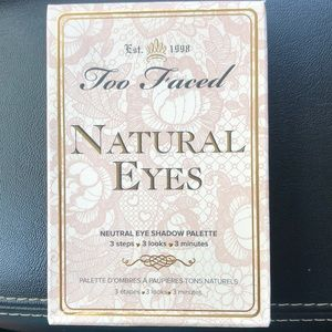 Too faced 'natural eyes' eye shadow palette